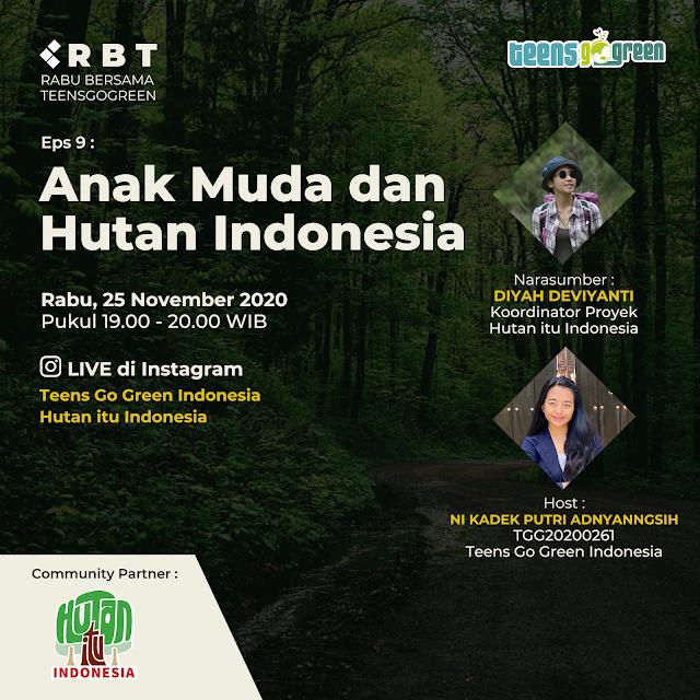 Belajar dan Menjaga Hutan Kita di Indonesia