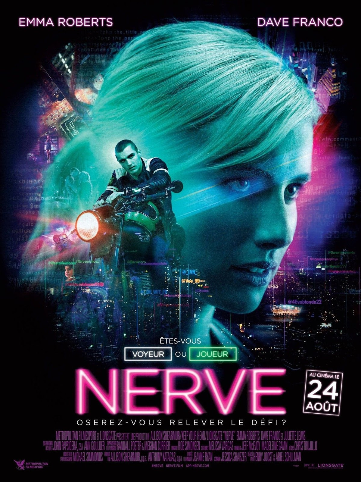[ภาพ MASTER ITUNES] NERVE (2016) เล่นเกม เล่นตาย [1080P]
