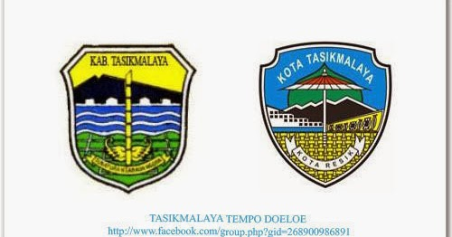 Tasikmalaya Tempo Doeloe Arti Lambang Logo Kabupaten Dan Kota Tasikmalaya