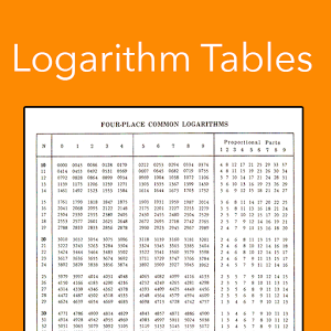 Logarithm Table For Higher Secondary Examinations
