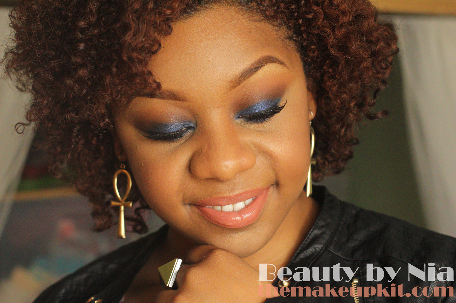 Jason Wu Inspired Marine Blue Eye Look 1