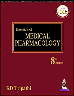 Essentials of Medical Pharmacology - 8th Edition - K D Tripathi