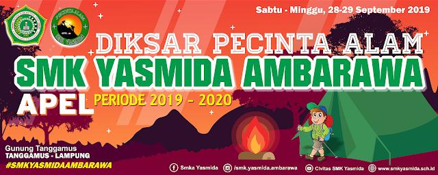 Download Banner Diksar Pecinta Alam SMK Yasmida Ambarawa