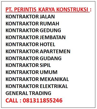 Perusahaan Kontraktor Di Bekasi