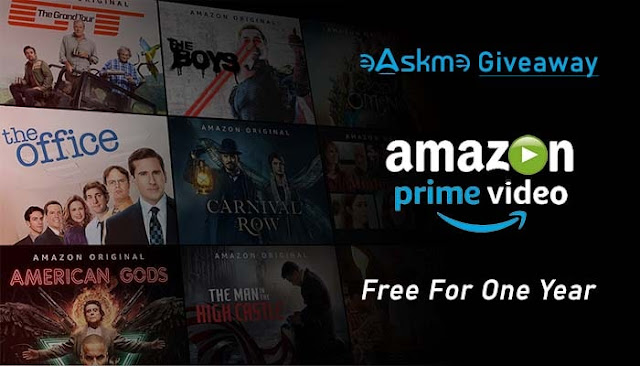 Free Amazon Prime Account for 2021-2022: eAskme Amazon Prime Video Monthly GiveAway: eAskme