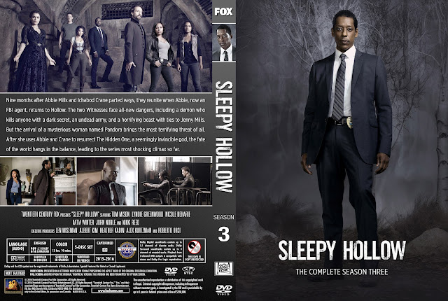 Sleepy Hollow Season 3 DVD Cover