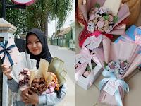 Melirik Bisnis Miandsha Bouquet Hijab yang Kekinian di Lampung
