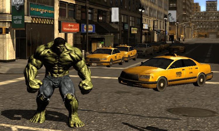 تحميل لعبة الرجل الاخضر The Incredible Hulk للكمبيوتر