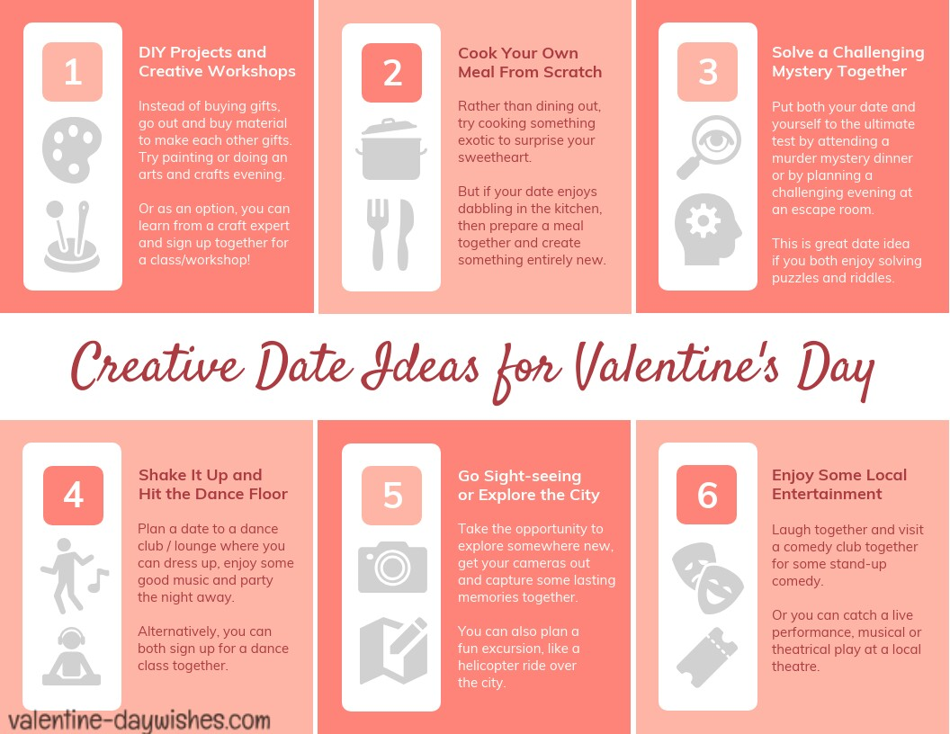 Creative Romantic Date For Valentine's Day