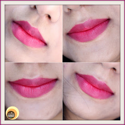 Revlon Super Lustrous Crème Lipstick Cherries In The Snow 440 swatches, LOTD, matte form