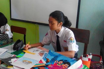Siswi SMP Negeri 17 Semarang juara kartun internasional di China