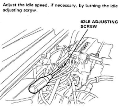 Honda accord maestro setting rpm