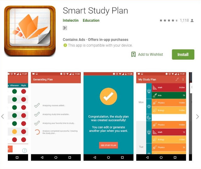 Educational apps for students