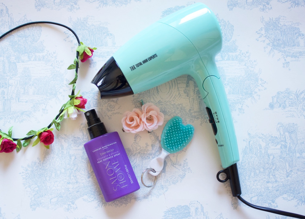 Total Hair Experts Pastel Miniature Hairdryer