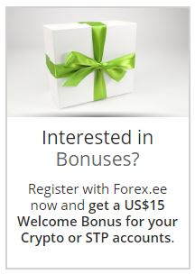 Bonus Forex Tanpa Deposit STP/Crypto $10 - Forexee