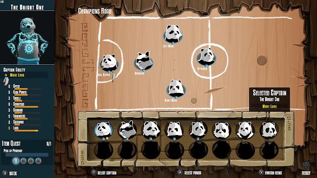 PandaBall equipo
