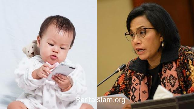 Demi Capai Target Ini, Sri Mulyani Sarankan Bayi-bayi di Indonesia Dikenalkan dengan Gadget