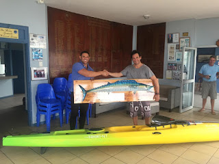 Congratulations to Martin de Jager who won the annual Catch Cook Scottburgh Kayak Classic Fishing Competition!