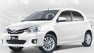 Harga Toyota Etios Valco White di Pontianak