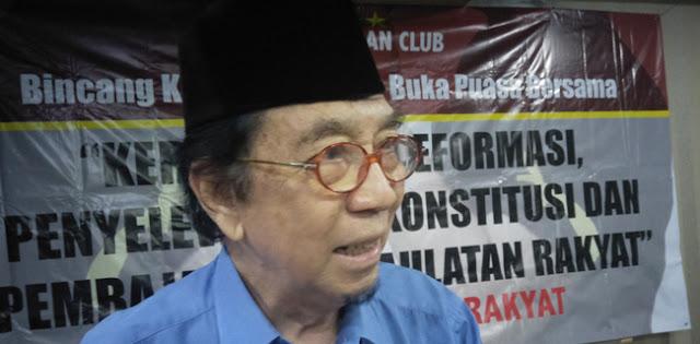 Guru Besar Ekonomi UI: Indonesia Krisis Konstitusi dan Kepemimpinan