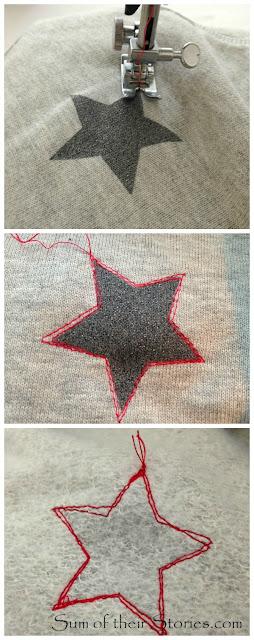 colour stitching refashion