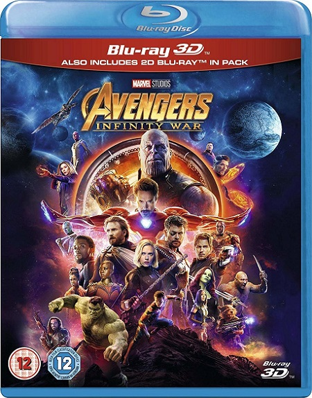 Avengers: Infinity War 3D (2018) m1080p BDRip 3D Half-OU 25GB mkv Dual Audio DTS-HD 7.1 ch