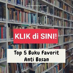 5 buku favorit yang disukai, buku best seller