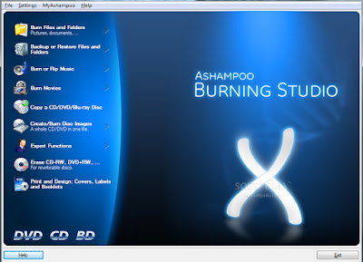 Ashampoo Burning Studio 10.10.0.1 +Key (32-64bit) Window 7 Free Download