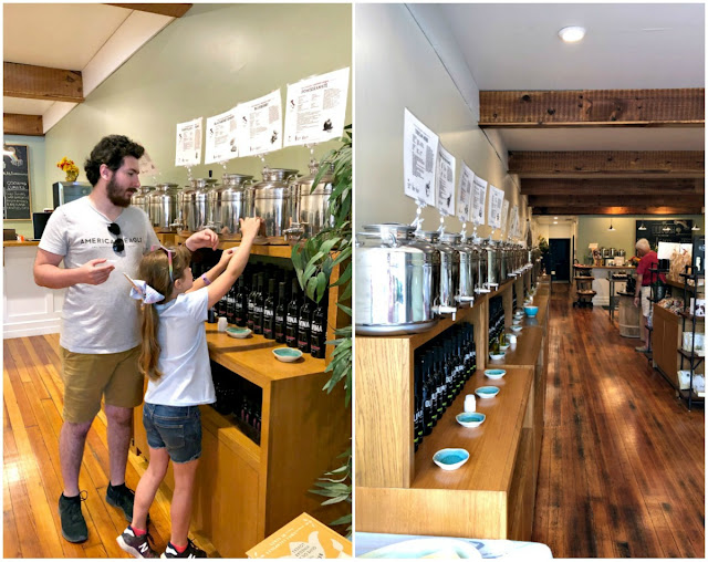 While not a restaurant or a brewery, the Olivina Taproom in the historic downtown area of Delaware, Ohio should be on your must-do list if you happen to be a foodie at heart. You can take your time to explore & taste the various olive oils & vinegars available for purchase in the taproom.