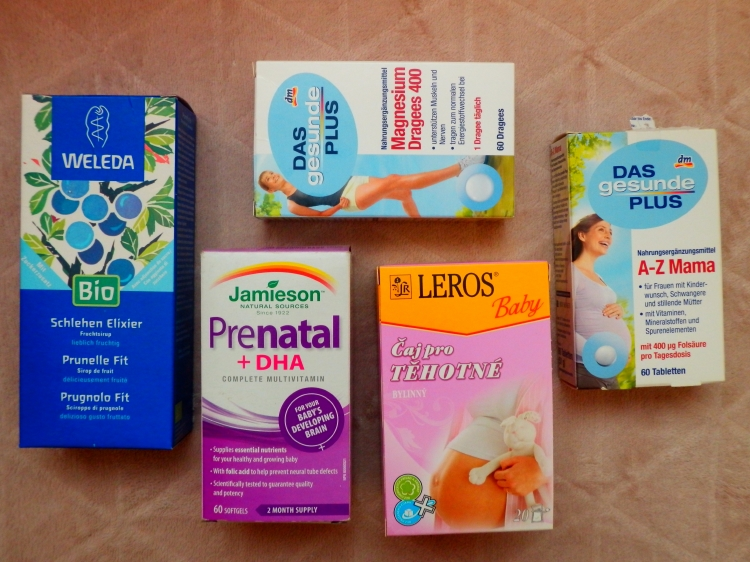 těhotenské vitamíny, čaj pro těhotné, weleda elixír