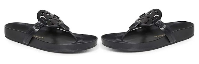 2. Tory Burch Women's Miller Cloud Sandals