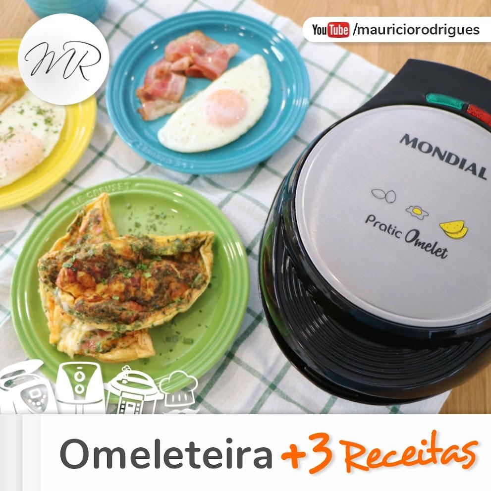 VÍDEO - Omeleteira + 3 Receitas e dicas!
