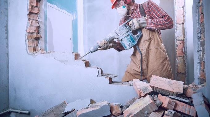 Teljesen elbontott egy egész házat egy battonyai férfi