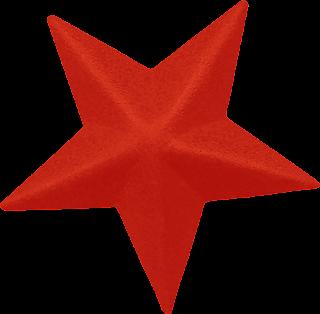 Free Printable 3D Stars Clipart.
