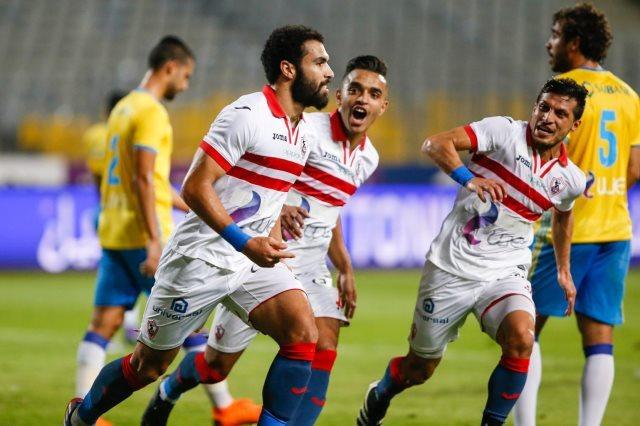 نتيجة مباراة الزمالك والاسماعيلي بتاريخ 24-07-2019 الدوري المصري
