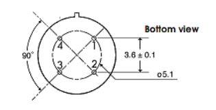 Struktur Sensor Gas TGS2610