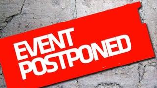 """Event Postponed"" by Michael Murdock - 9/4/18 Postponed-61guvityo8c2kzbkbnlq53hke4ngv9219k6ctatjayo"