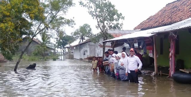 KPM SP LLI Donasi untuk korban banjir karawang 5 maret 2020