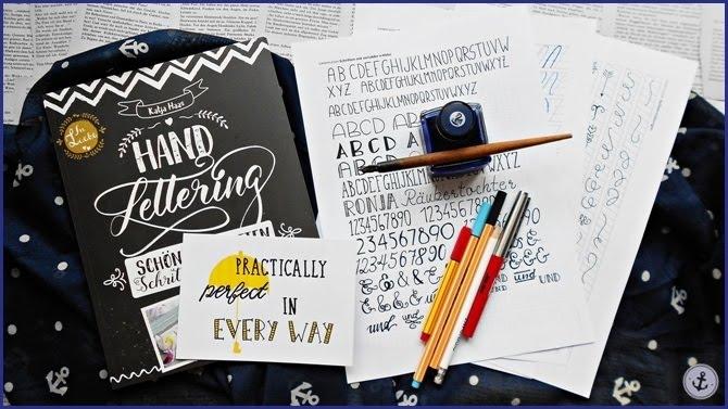Rezension Fazit Hand Lettering Katja Haas