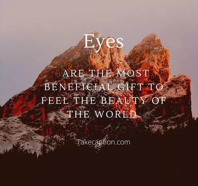 100 Gorgeous Instagram captions for eyes