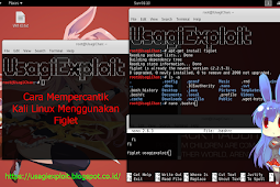 Cara Mempercantik Kali Linux Menggunakan Figlet