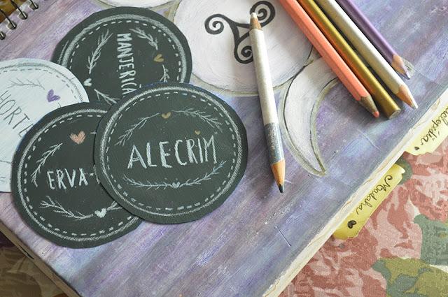 DIY Chalk Board Tag