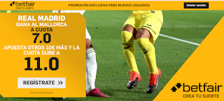betfair supercuota liga Real Madrid gana Mallorca 24 junio 2020
