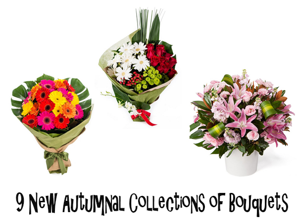 New Autumnal Collections of Bouquets