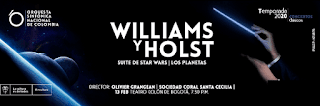 WILLIAMS Y HOLST + Sinfonica Nacional | Suite De Star Wars