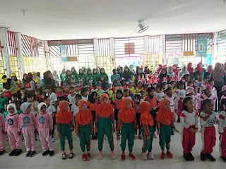 IGTKI Kotabaru Gelar Lomba Zumba Kids and Moms