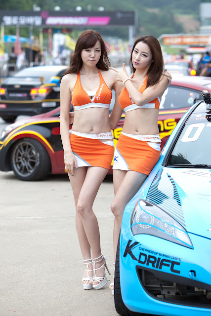4 Hong Ji Yeon at CJ SuperRace R4 2012-Very cute asian girl - girlcute4u.blogspot.com