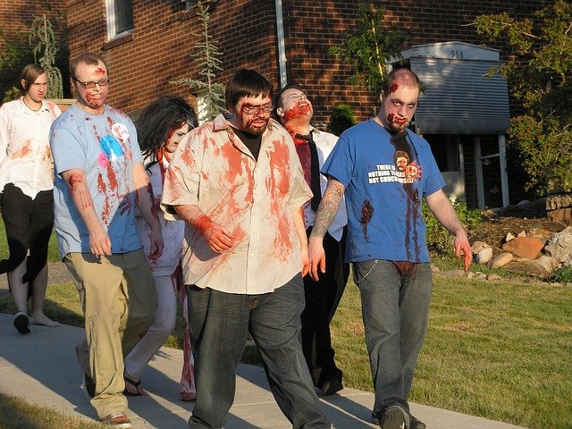 zombies halloween costume