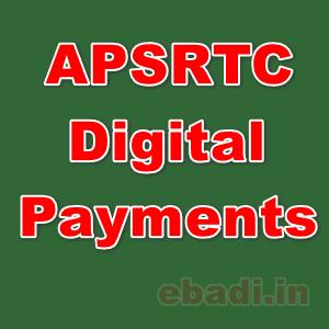 APSRTC digital payments