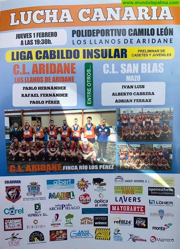 Lucha Canaria Aridane - San Blas